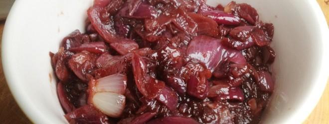 Rode uien Chutney