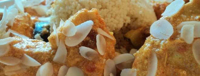 Marokkaanse kip met Couscous