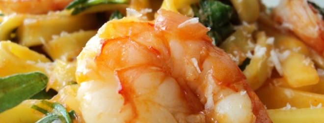 Foodblog Swap! Pasta met Scampi van Kookmeisje